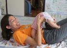産後ヨガ2010・ユイちゃんママさん